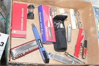 Pocket knives - Swiss Army, Stainless etc