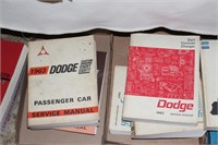 Dodge, Plymouth, Chrysler service manuals
