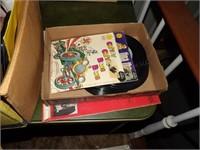 Lp Albums & 45 RPM Records & Kids Records