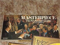 Masterpiece Art Auction Board Game