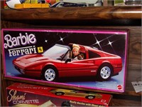 N.I.B. Barbie Ferrari