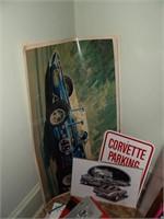 Corvette Memorabelia