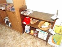 Pine Book Shelf - 3 shelves