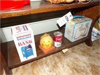 Coin Banks & Lunchbox