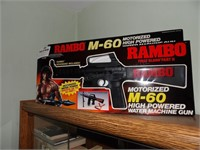 N.I.B. Rambo M-60 Toy