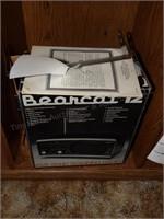 Bearcat 12- 5 Band Scanning Radio