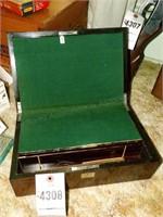 Wood Lap Secretary Writing Box