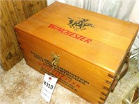 Wood Winchester Ammo Box