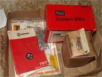 Qty of Crossman BB's, Daisy BB Packs, Etc