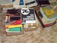 Automotive service manuals - several boxes
