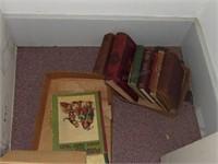 All books on shelf - 3 Shelves