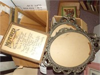 2 Boxes of Small Photo Frames