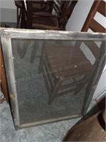 2 Screens - Vintage Fireplace, Med Window