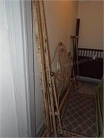 2 Vintage Metal Bed Frames