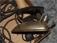 2 Vintage Electric Irons W/Cords