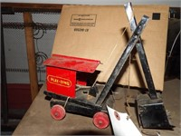 Antique Toy Steam Shovel - Plee - Zing