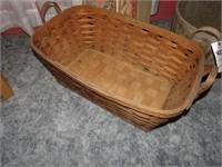 Large Rectangular Basket - Vintage