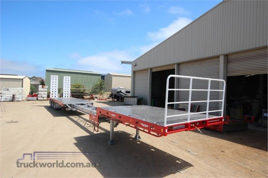 2020 Freightmore Transport Drop Deck Extendable Trailer - Trailers for Sale
