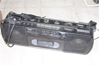 cd player & cassette player