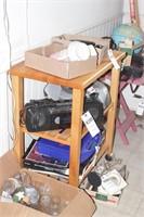 2 shelf kitchen stand