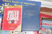 50 states quarters, coin books and more