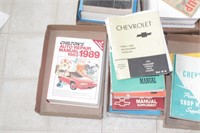 Chevy shop manuals & service manuals