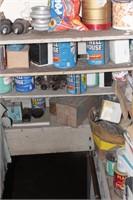 Hardware (Basement shelves)