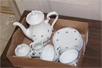Tea set - Western Germany