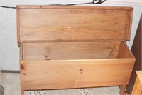 Wooden bench for shoes & storage