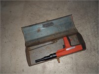 Small Craftsman Metal Tool Box W/ Contents