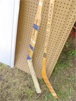 2 Victoriaville Hocky Sticks
