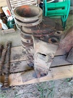 GM Small Block V8 Engine block W/ Crank