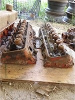 Pair of Small Block Chevy Head W/ Valves