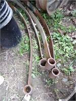 4 Single Leaf Springs