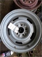 """Pair of GM 15"""" Steel Wheels"""