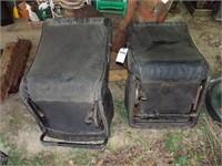 Pair of Black Bucket Seats- Older Model GM