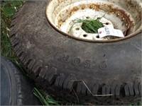 8 Bolt Steel Wheel W/ New Mounted Tire
