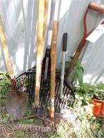 Yard Tools 7 Pc