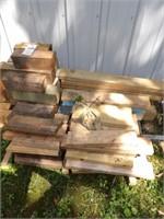 Short Lumber Various sizes