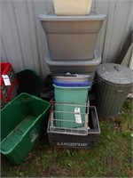Totes, Buckets, Crate - Qty 10