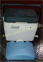 Coleman personal 8 cooler with playmate canteen