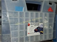 Akro mils large lid storage organizer