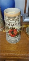 Stroh's Bohemian 7.5 in collectible beer stein,