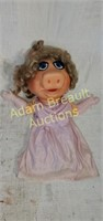 Vintage Miss Piggy hand puppet