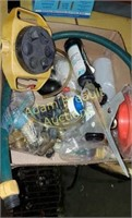 Box  lot -  sprinklers and hose accessories
