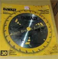 DeWalt 7.25 inch framing saw blade, new