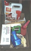 Box lot - animal repellent, weed control,