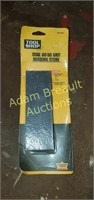 Tool shop dual 60 - 80 grit rubbing Stone, new