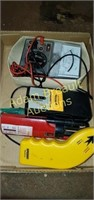 Assorted electrical testers and meters, stud