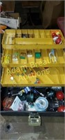 Ted Williams 34464 vintage tackle box and